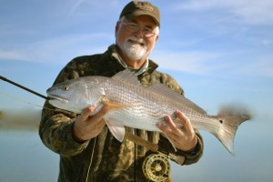 fly fishing for red fish georgia