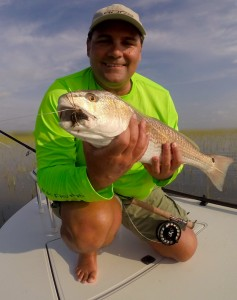 Chris Webbers crab pattern is just silly on the reds
